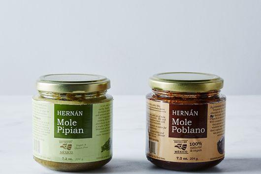 Vegan Mole Poblano & Mole Pipian