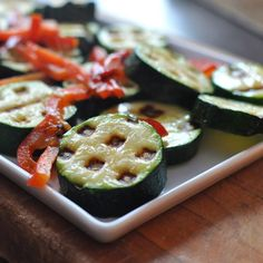 Waffled vegetables