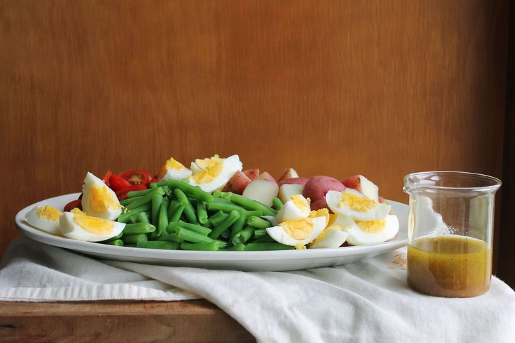 Not-Quite Nicoise Salad
