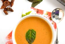 Creamy Sun Dried Tomato Soup