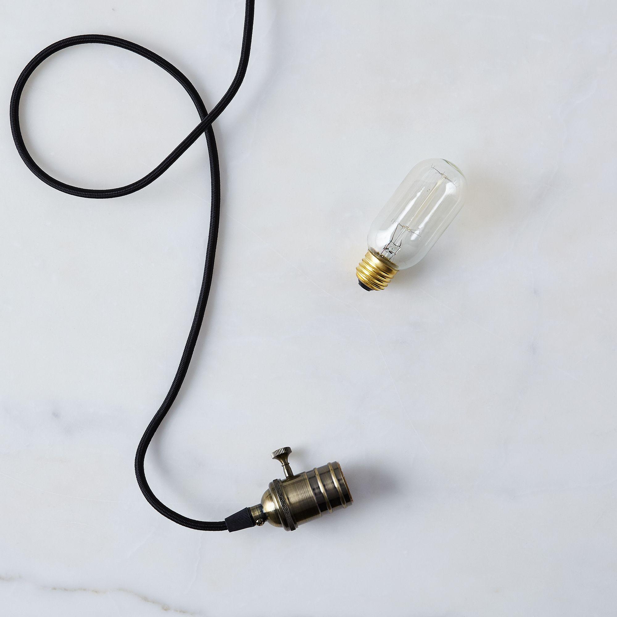 Barebones Living Edison String And Pendant Light Copper Pendant Light Shefinds