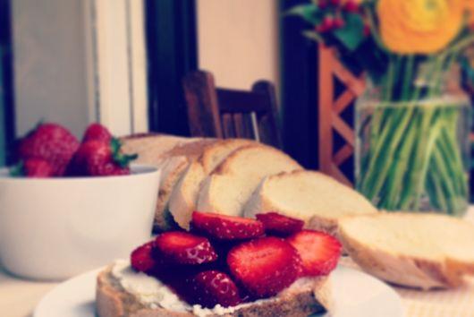 Sweet Breakfast Bruschetta