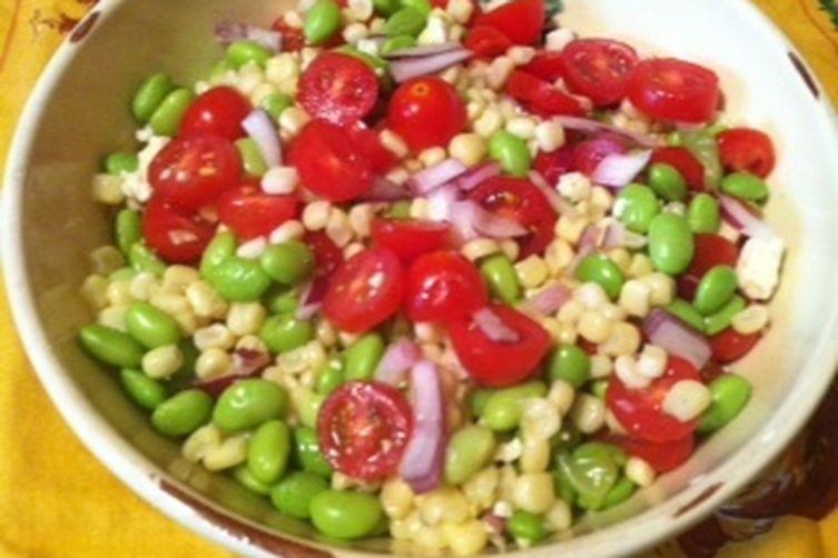 Ridiculously Good Edamame Salad