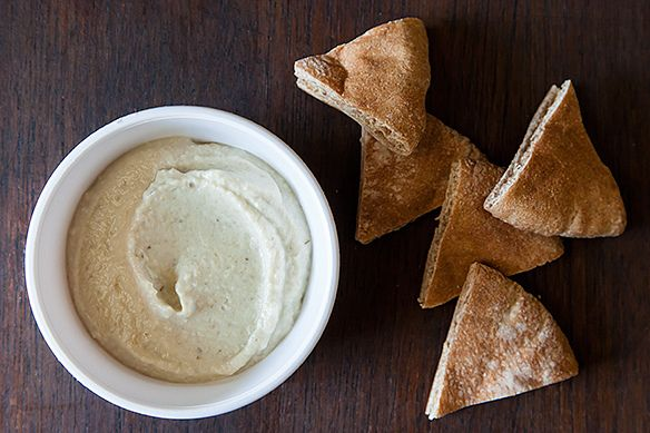 Eggplant Dip with Yogurt from Food52