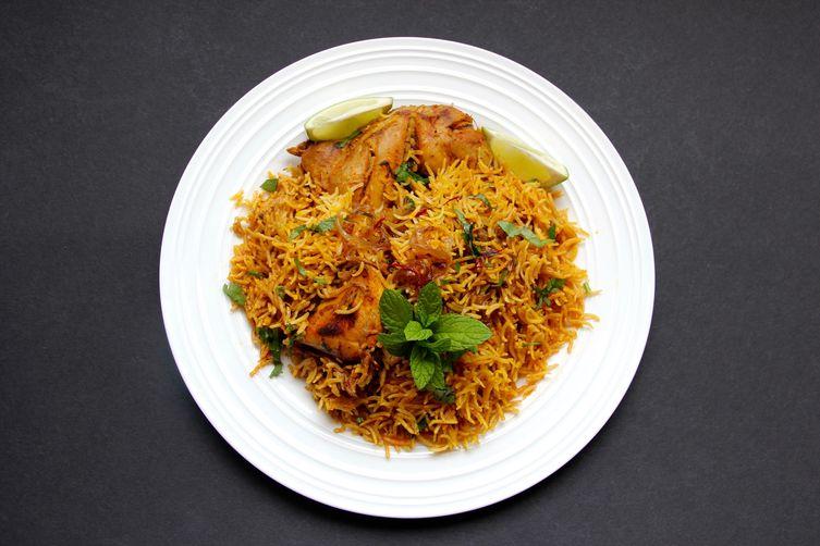 Chicken Biryani – Instant Pot
