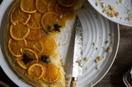 Candied Orange and Star Anise Upside Down Cake