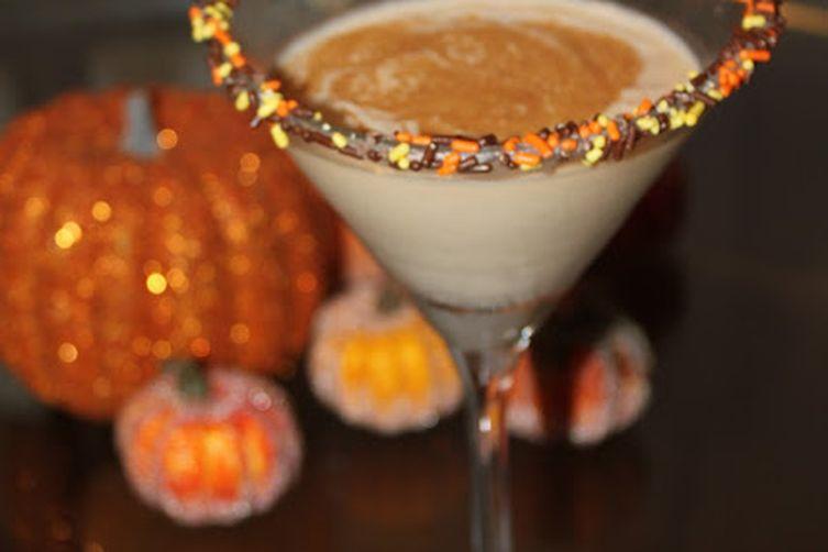 OMG Awesome Pumpkin Pie Milkshake