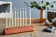 7 Stylish Menorahs to Celebrate Hanukkah