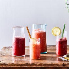 Frozen Vodka Lemonade with Berries