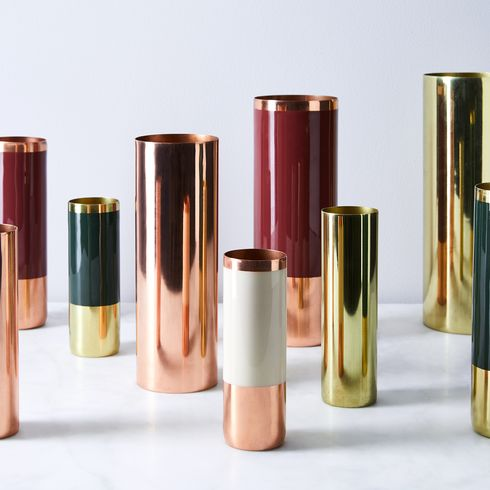 Copper And Brass Louise Vases On Food52