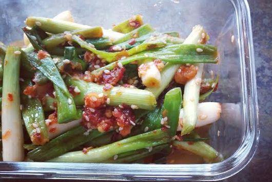Spicy Scallion, Kimchi-Style