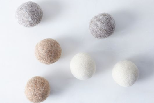 Oatmeal Wool Dryer Balls (Set of 6)
