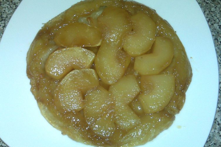 Apple tart tatin