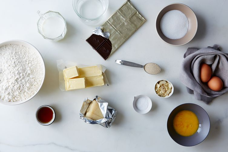 Chocolate-Almond Croissants
