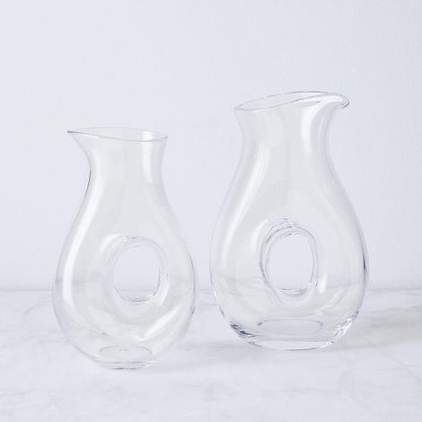 Hand-Blown Glass Void Jug