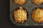 Pear Ginger Walnut Muffins
