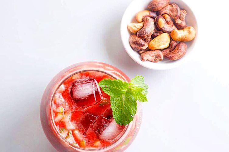 Tomato-spearmint Cocktail