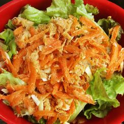 Way Better Than it Sounds Carrot and Tuna Salad