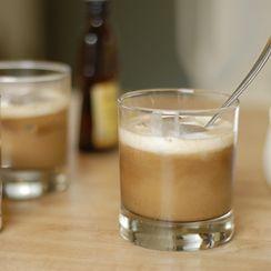Coconut Milk, Frangelico and Espresso