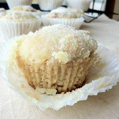 Lemon Drop Muffins