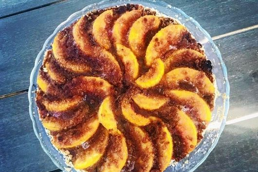 Tamarind Peach Tart