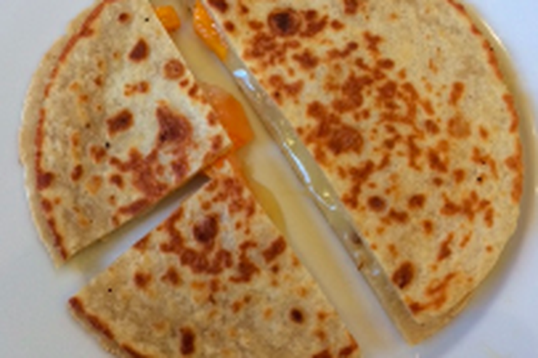 10 Minute Spicy Quesadilla
