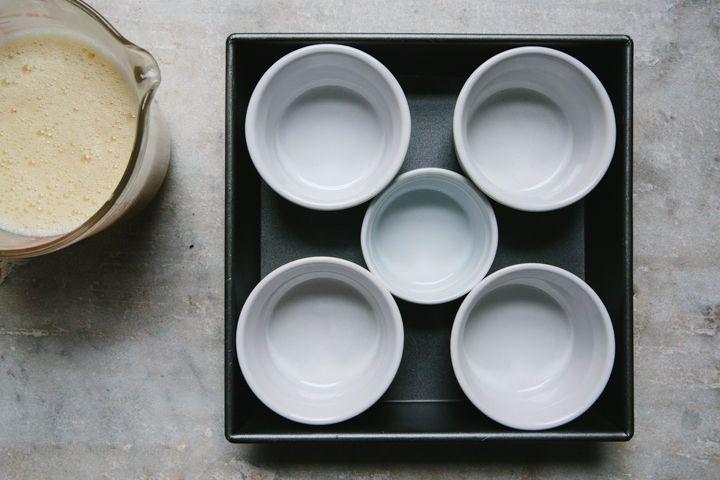 Juniper-Honey Pots de Crème