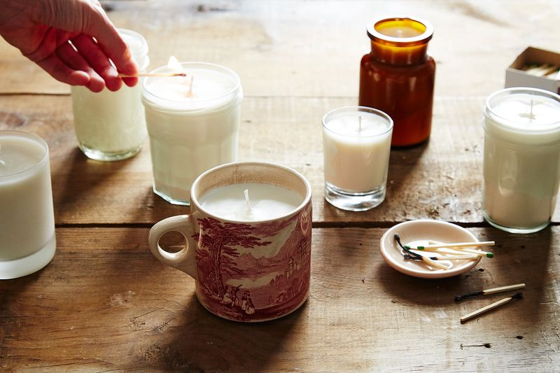 diy soy wax candles