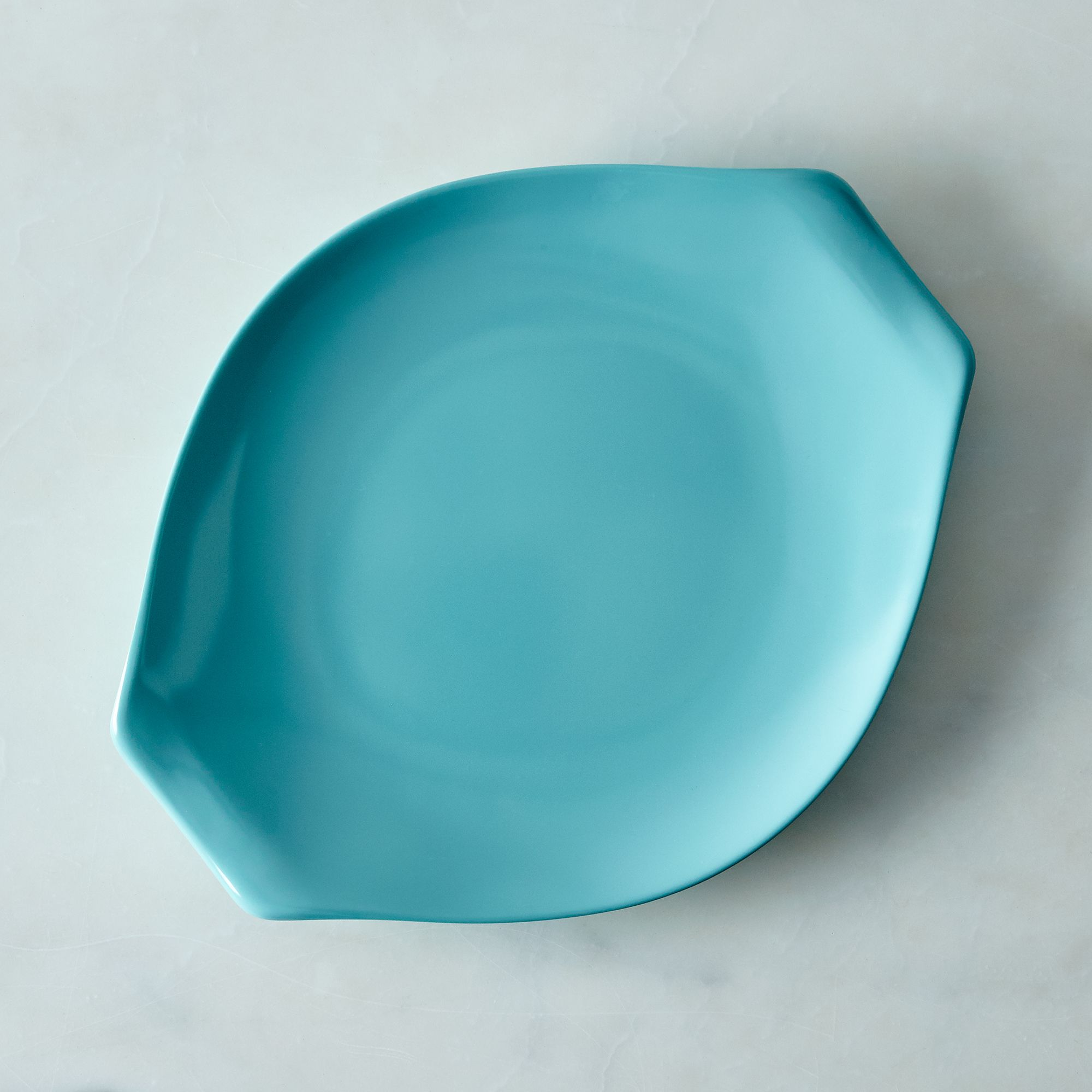 F69ae791 934a 4d98 bfd5 4f7219cb3907  2016 0411 bobs your uncle russel wright melamine dinnerware large platter aqua silo rocky luten 001