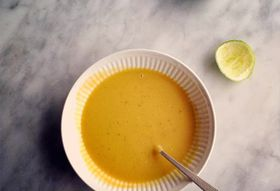 Winter Squash Soup with Curry