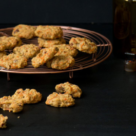 CARROT NUTMEG PECAN COOKIES