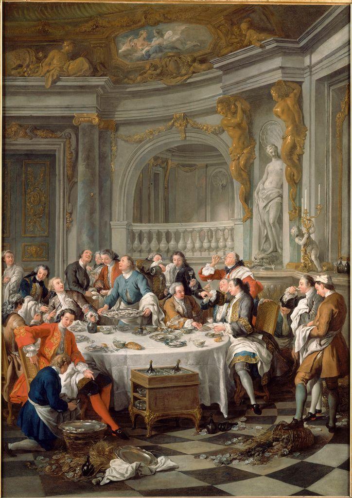 Le Dejeuner D'Huitres