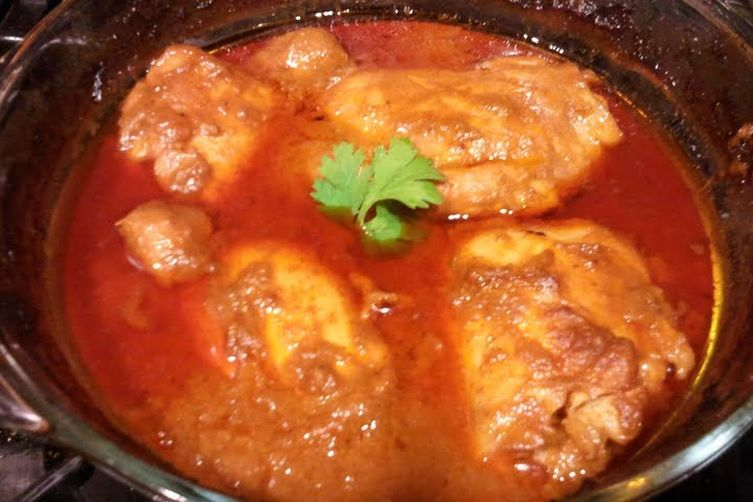 Easy indian chicken curry recipe on food52 easy indian chicken curry forumfinder Image collections