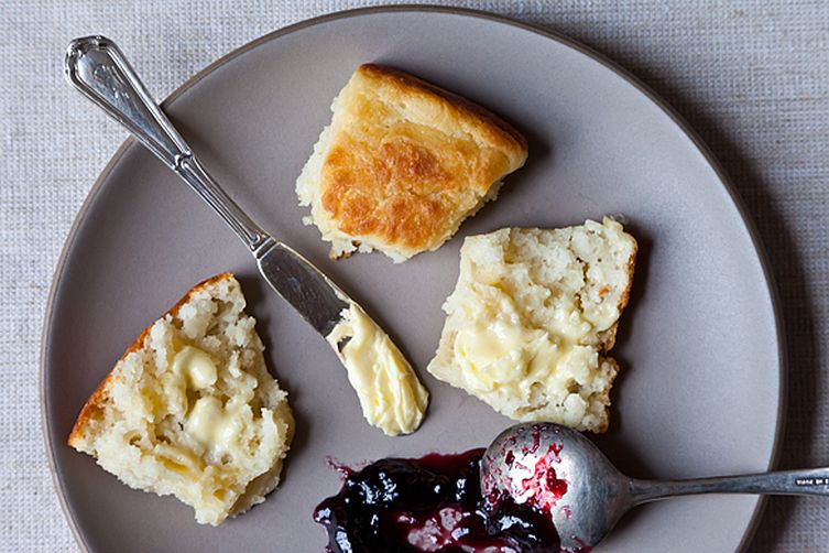 Shirley corriher 39 s touch of grace biscuits recipe on food52 for Table 52 biscuit recipe