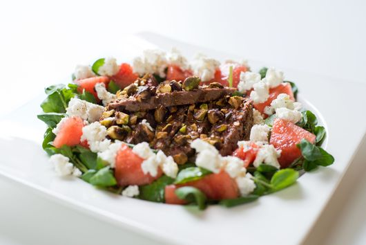 Spiced Lamb Salad