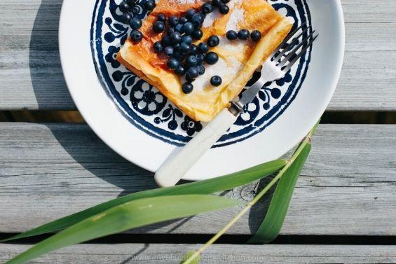 Nordic oven pancake