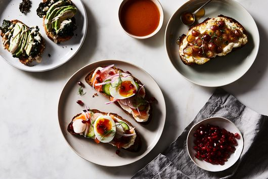 3 Simple (and Colorful) Spruce-Ups for Plain Old Toast