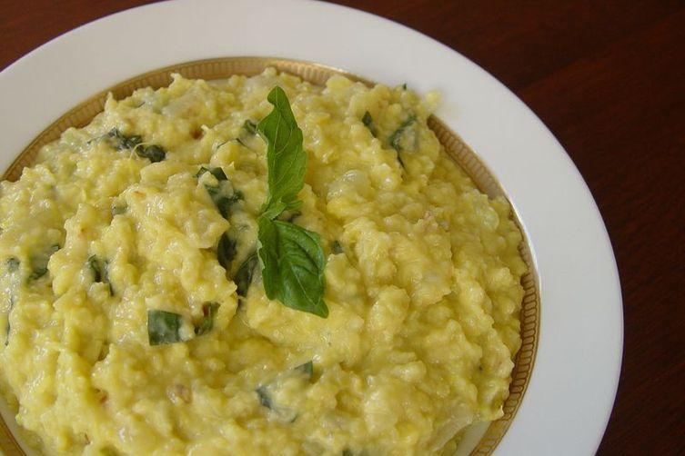 "Argentine Corn ""Pudding"" (Humita)"