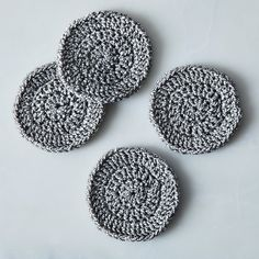 Handmade Pinwheel Coasters (Set of 4)