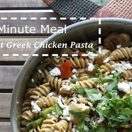 Greek Chicken Pasta by George