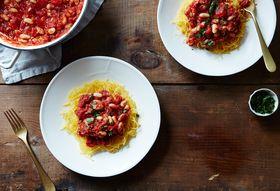 Db810894 f3e1 4b9b bef3 794c9801f74f  2016 0216 vegan baked spaghetti squash with white bean ragout mark weinberg 131