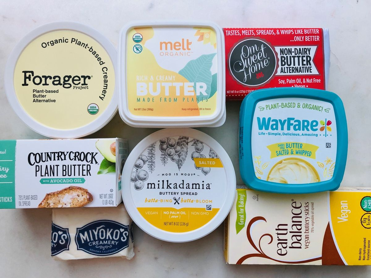 10 Best Vegan Butters Brands For Baking From Earth Balance To Miyoko S