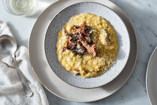 A Creamy Mushroom & Squash Risotto for Cozy Nights In With Friends