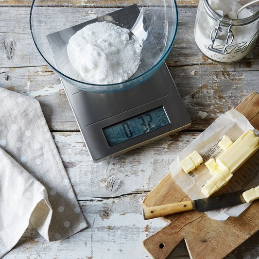 Digital Kitchen Scale and Clock