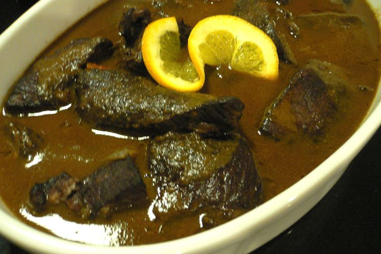 Spiced Cabernet Boneless Short Ribs with Chocolate