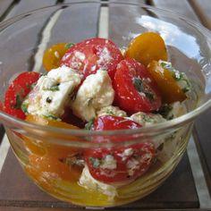 Minted Feta And Cherry Tomato Salad