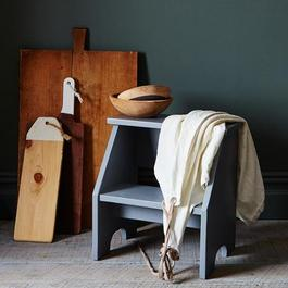 Vintage Style Two-Step Stool