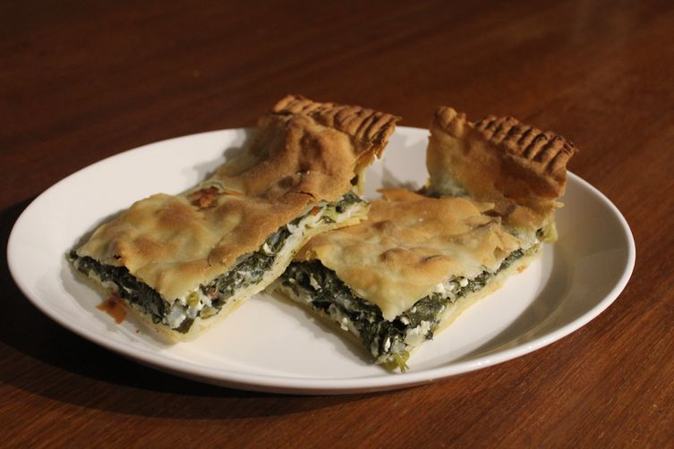 Peter & Julie Bellas' Spanakopita (Spinach Pie)