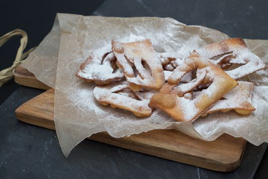 Fried Pastry - (Chiacchiere)