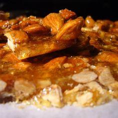 Croccante di Mandorle (Almond Brittle)